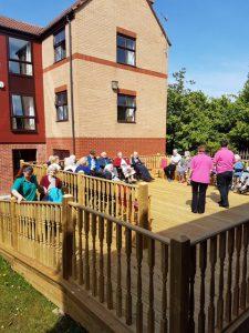 Sun Terrace, Byker Hall Care Home in Newcastle